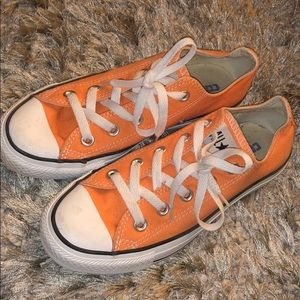 Orange Converse All-Star